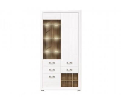 MALTA шкаф B136-REG1W2D2S с подсветкой
