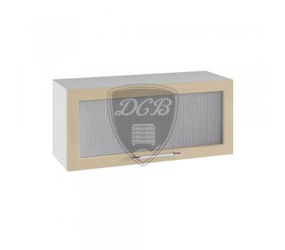 КАПЛЯ 3D ШВГС-800 шкаф горизонтальный со стеклом