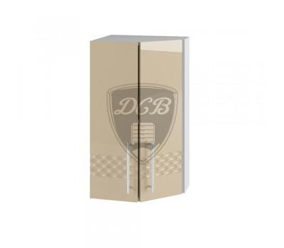 КАПЛЯ 3D ШВТУ-400 шкаф верхний торцевой угловой