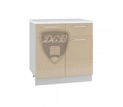 КАПЛЯ 3D С2Я-800 шкаф нижний с 2 ящиками