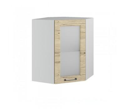 КАПРИ ШВУС-550 угловой навесной шкаф со стеклом