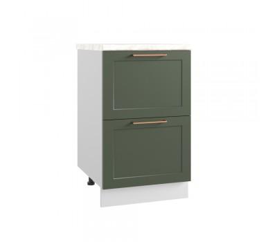 КВАДРО СК2-500 шкаф нижний комод (2 ящика)