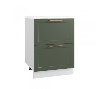КВАДРО КМЯ-600 шкаф нижний с 2 ящиками метабокс