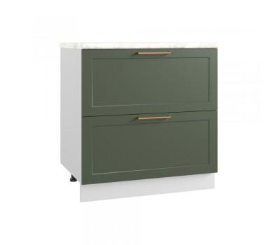 КВАДРО СК2-800 шкаф нижний с 2 ящиками