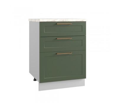 КВАДРО СМЯ-600 метабокс шкаф нижний с 3 ящиками