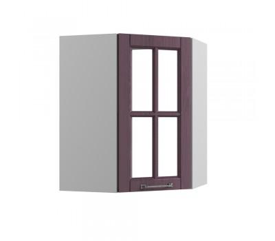 ТИТО ПУС-550 угловой навесной шкаф со стеклом