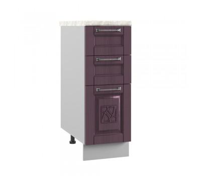 ТИТО СЯ-300 шкаф нижний с 3 ящиками