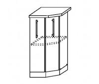 МОНАКО СТ 400 шкаф нижний торцевой
