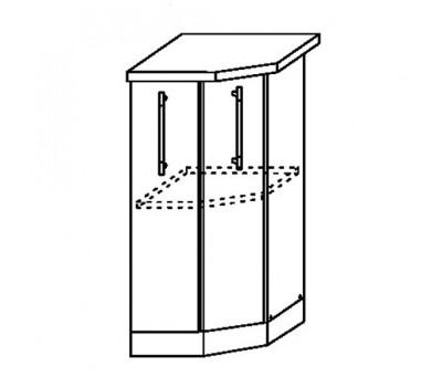 МАША ШНТУ-400 шкаф нижний торцевой угловой
