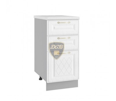 ВИТА ШНЯ-400 шкаф нижний с 3 ящиками
