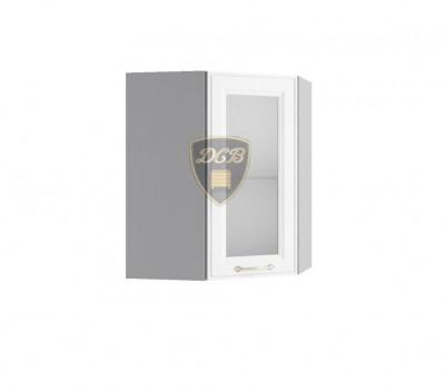 ВИТА ВПУС-550 угловой навесной шкаф со стеклом