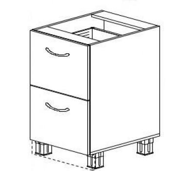МОНАКО ШНК2-800 шкаф нижний комод (2 ящика)
