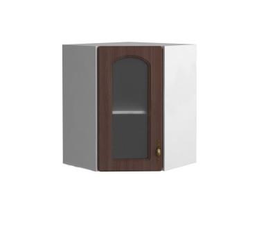 МОНАКО ШВУС 550*550 шкаф угловой со стеклом