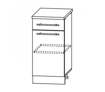РОЙС С1Я-400 шкаф нижний с 2 ящиками