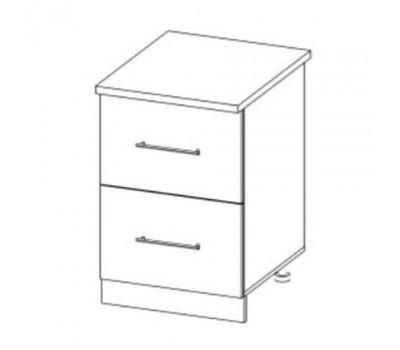 РОЙС СК2-500 шкаф нижний комод (2 ящика)