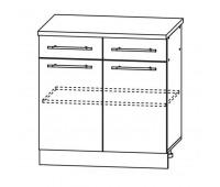 МАША ШН2Я-800 шкаф нижний с 2 ящиками