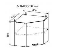 ДУСЯ ДПУ-600 угловой навесной шкаф