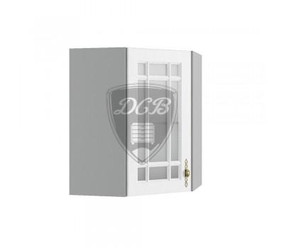 ГРАНД ВПУС-550 угловой навесной шкаф со стеклом
