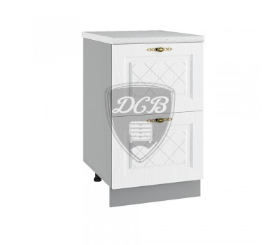 ГРАНД СК2-500 шкаф нижний комод (2 ящика)