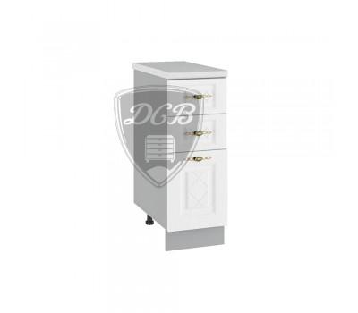 ГРАНД ШНЯ-300 шкаф нижний с 3 ящиками