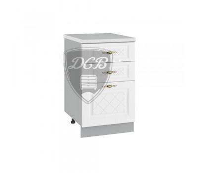 ГРАНД ШНЯ-500 шкаф нижний с 3 ящиками