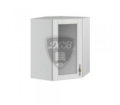 ИМПЕРИЯ ШВУС-550х550 угловой навесной шкаф со стеклом