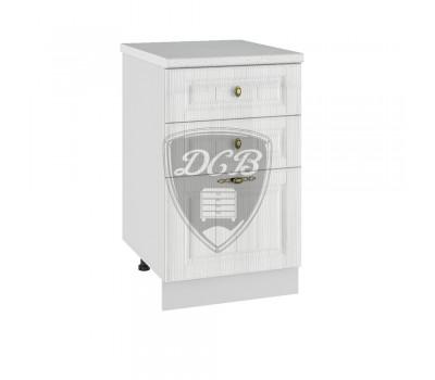 ИМПЕРИЯ СЯ-500 шкаф нижний с 3 ящиками