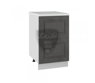 КАПРИ СК2-500 шкаф нижний комод (2 ящика)