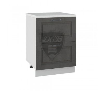 КАПРИ ДСВ ШНК2-600 шкаф нижний комод (2 ящика)
