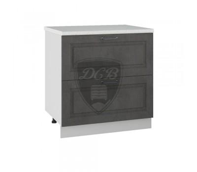 КАПРИ ШНК2-800 шкаф нижний комод (2 ящика)