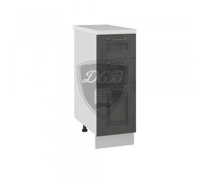 КАПРИ ШНЯ-300 шкаф нижний с 3 ящиками