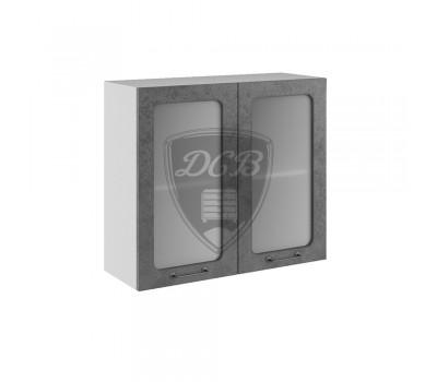 ЛОФТ ШВС-800 шкаф навесной со стеклом