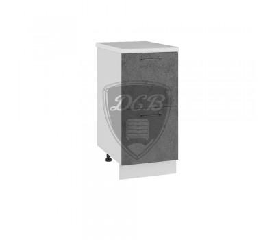 ЛОФТ СК2-400 шкаф нижний комод (2 ящика)