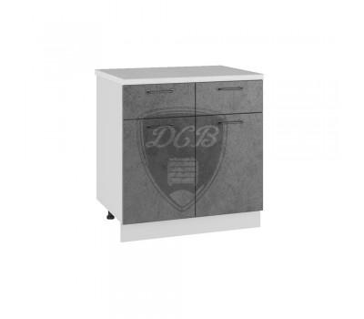 ЛОФТ С2Я-800 шкаф нижний с 2 ящиками