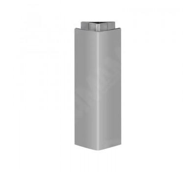 Уголок 135 градусов универсальный (высота 100), серый