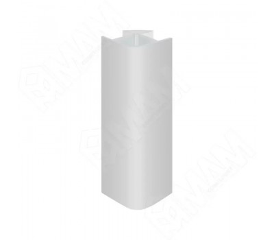 Уголок 90 градусов универсальный (высота 150), серый