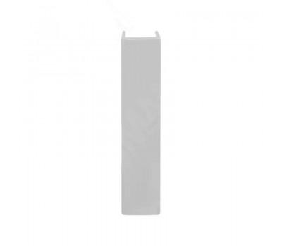 Заглушка (конечный элемент) на цоколь универсальная (высота 100), серый