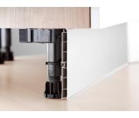 Цоколь кухонный пластик 4 м (+комплект уголков и заглушек)