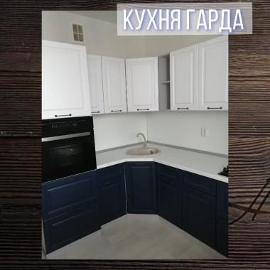 Кухня Гарда Белый/Джинс