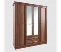 Шкаф 4-х створчатый с зеркалом Янна ЯН-06