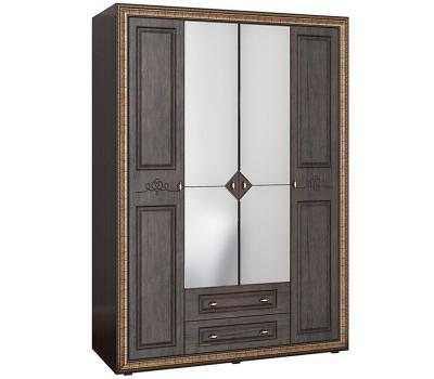 Шкаф 4-ств с зеркалами Версаль ВР-109