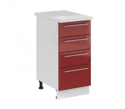 Олива СЯ-400 шкаф нижний с 3 ящиками