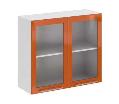 Олива ШВС-800 шкаф навесной со стеклом