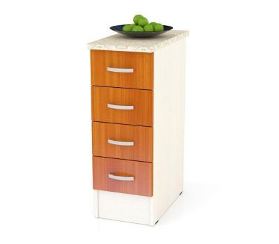 Мери-Клер ШН4Я-300 шкаф нижний с 4-мя ящиками