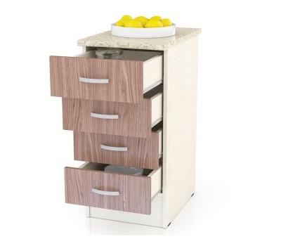 Мери-Клер ШН4Я-400 шкаф нижний с 4-мя ящиками