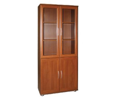 Шкаф для книг МД2.03 со стеклом