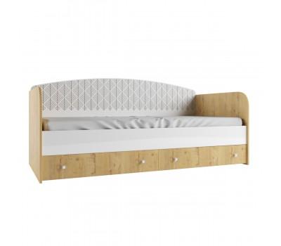 Кровать с ящиками Сканди ДКД 2000.1
