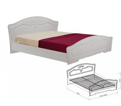 Ева кровать №1 1600 (с основанием)