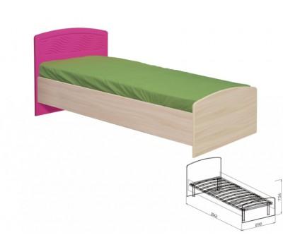 """Кровать с основанием №9 """"Акварель"""""""