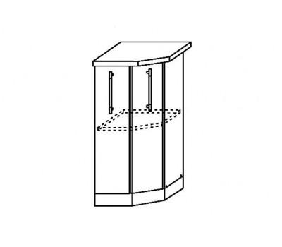 ОПЕРА СТ-400 шкаф нижний торцевой угловой